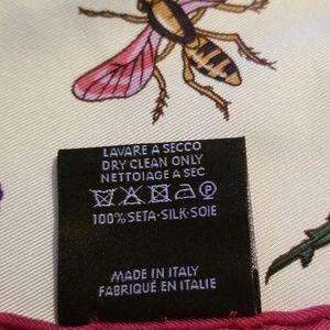 Gucci Accessories - Authentic Gucci 100% Silk Scarf 🌸🐝🌸🦋🌸🐞